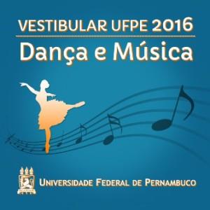 Vagas nos cursos de dança e música da UFPE